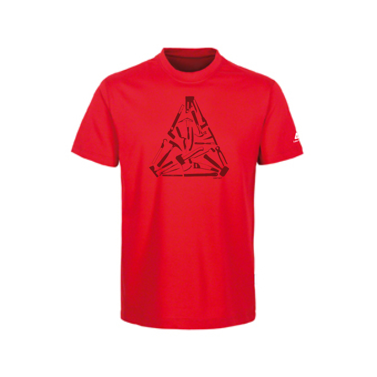 "T Shirt ""Tools"" rot"